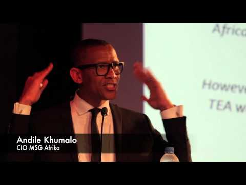 Andile Khumalo at G20 Young Entrepreneurs Alliance Summit 2015