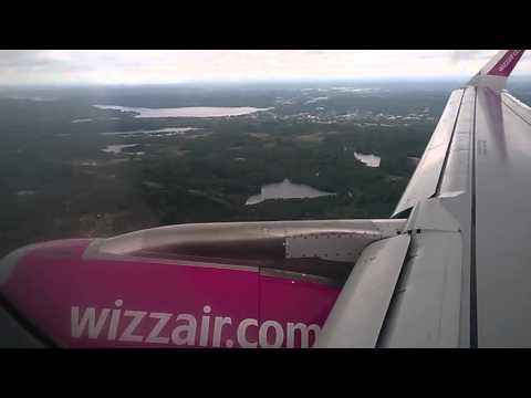 landing at Gothenburg Landvetter Airport / Sweden (GOT/ESGG)