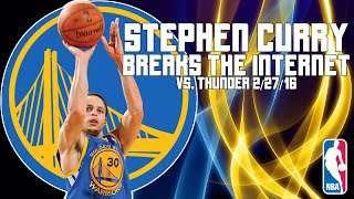 Stephen Curry and The Game-Winning Shot That Melted Twitter (Highlight Vid)