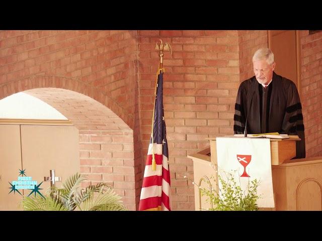 Sunday Worship November 8, 2020 First Christian Church