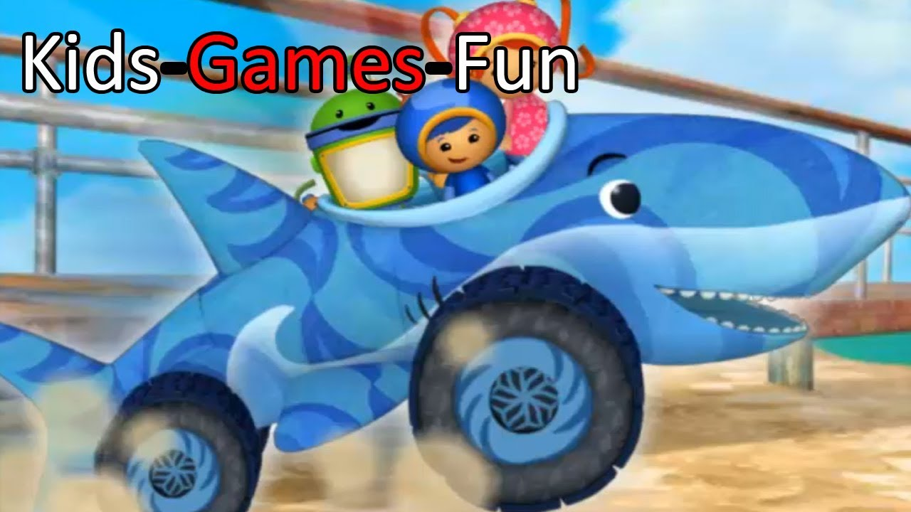Team Umizoomi | UmiCar's Shape Mountain Race | Game Online ...