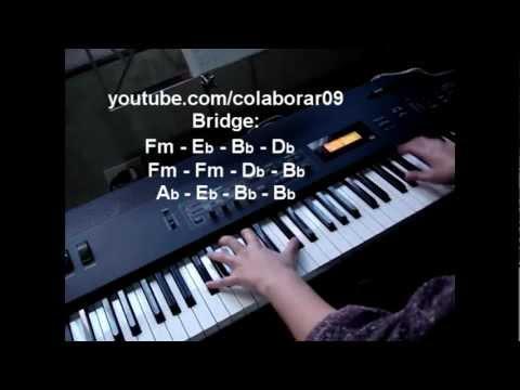 Lost in paradise - Evanescence Piano Tutorial (+chords +lyrics)