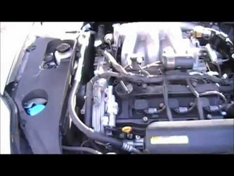 2004 Nissan Maxima 35L Timing Chain Repair Part 1 - YouTube