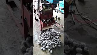 Cleaning ball machine in production ( unfinished machine)