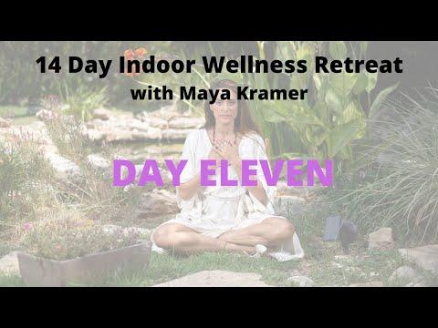 Chakra Cleansing Yoga צ'אקרות יוגה Indoor Wellness Retreat| Maya Kramer