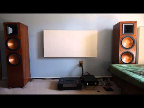 Testing out the Klipsch RF 7 II and Zoom H6