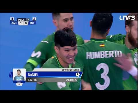 Fútbol Emotion Zaragoza - Movistar Inter. Jornada 13