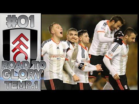 ¡EL FULHAM A LA GLORIA! #01 | ROAD TO GLORY - FULHAM F.C. TEMP. 1 | FIFA 16