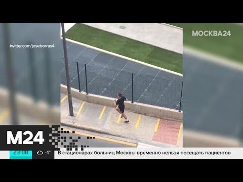 Футболиста Черышева раскритиковали за уличную тренировку на фоне коронавируса - Москва 24