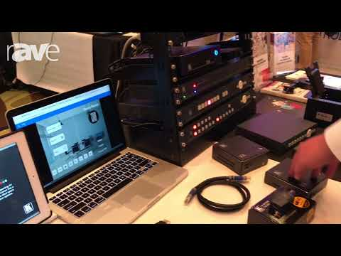 E4 AV Tour: Kramer Electronics Shows Kramer Control System, VIA Wireless Presentation, Collab Devic