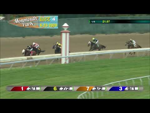 video thumbnail for MONMOUTH PARK 08-23-20 RACE 4