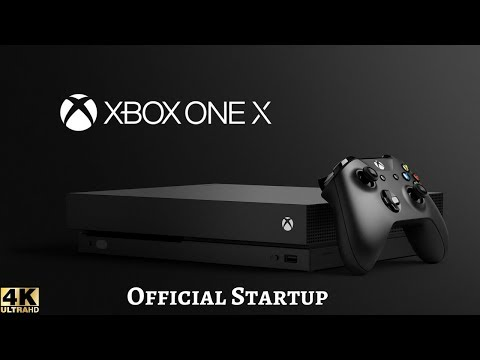 "XBOX ONE X ""Official Startup Screen""  [4K]"