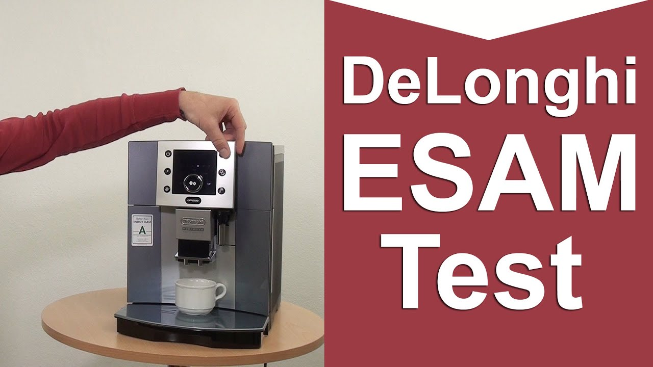 delonghi esam 5500 perfecta kaffeevollautomat test youtube. Black Bedroom Furniture Sets. Home Design Ideas