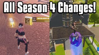 Everything New In Fortnite Chapter 2 Season 4! - Battle Pass, Map, Weapons, & More!