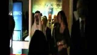 Kronprinsessan Victoria inviger Nobelutställning i Dubai