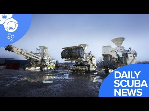 Daily Scuba News - Are Giant Robots The Future Of Underwater Mining?