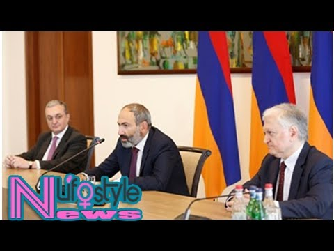 New premier: armenia diplomatic corps must be kept away from impact of political changes (photos)