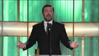 The Best of Ricky Gervais at The Golden Globes (2010-2012)