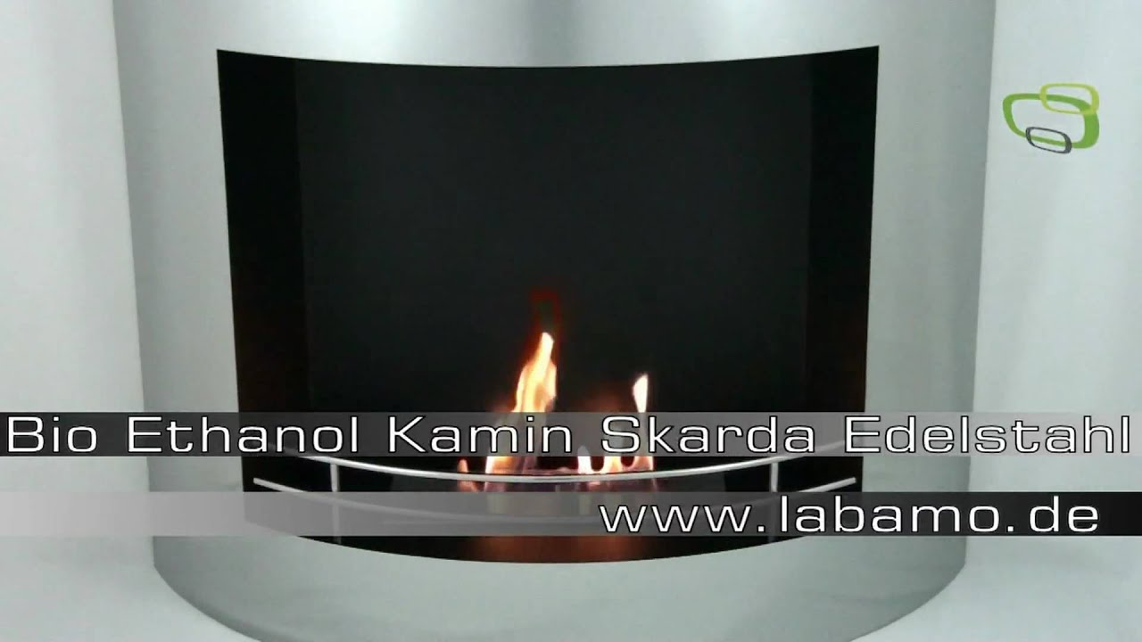 bio ethanol kamin skarda edelstahl gelkamin youtube. Black Bedroom Furniture Sets. Home Design Ideas
