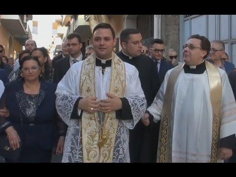 Gricignano (CE) - Alessandro Arnone sacerdote, i festeggiamenti (11.05.15)