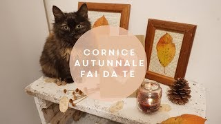 Come fare un portafoto autunnale con le foglie || tutorial autunno fai da te | fall photo frame  DIY
