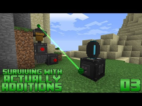 Surviving With Actually Additions :: E03 - Vertical Digger & Empowerer