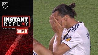 Did LA Galaxy's Zlatan Ibrahimovic deserve a penalty?