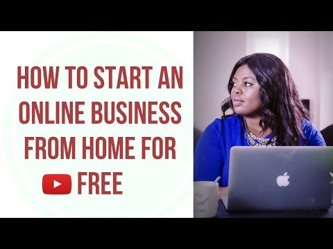 How to Start an Online Business Working from Home with No Investment