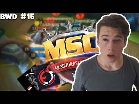 ML Tournament Match! Pro Team vs Top Team (BWD #15)