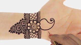 Karwa Chauth Mehndi Design for Hands | करवा चौथ के लिए Mehndi Design for Hands by Sonia Goyal #395
