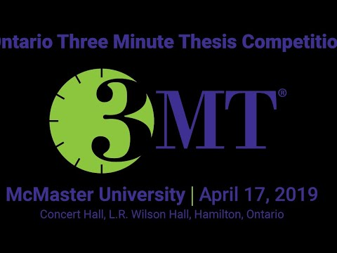 Ontario Three Minute Thesis Competition
