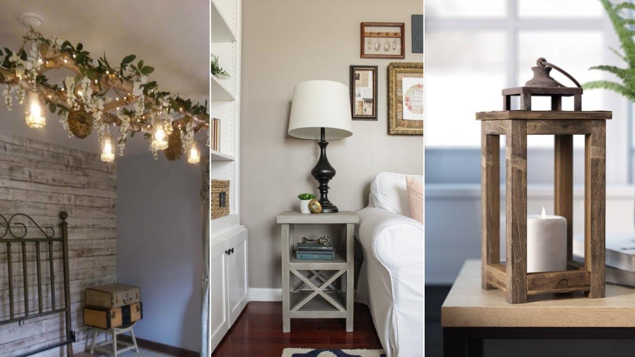 10 Diy Rustic Furniture Project Ideas
