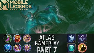 GAME PLAY ATLAS MOBILE LEGENDS #7 (Epic Comeback 25 Point)
