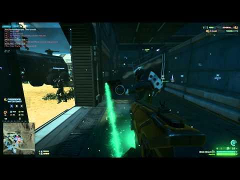 Planetside 2: Shotgun (Nova) Gameplay