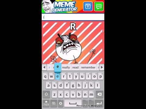 Cool Meme Generator For ANDROID