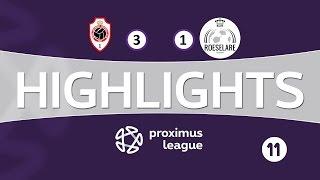 Highlights NL / Antwerp - Roeselare / 05/03/2017