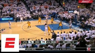Russell Westbrook, Paul George and Carmelo Anthony go 0-for-14 in fourth quarter of Game 2   ESPN