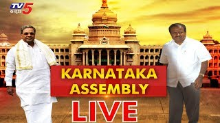 Live : Karnataka Assembly Session 2019 | Karnataka Floor Test | TV5 Kannada