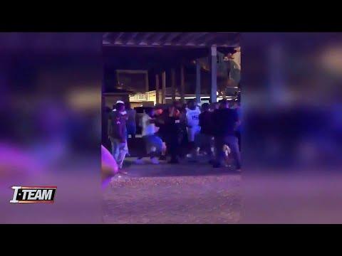 Fight at Jacksonville Beach caught on camera