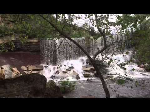 Cowley County Waterfall