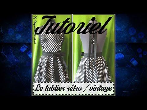 Tuto Couture U2013 Coudre Un Tablier Rétro