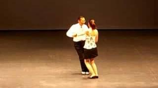 Long Tall Sally - single swing round dance -Tim & Christina Eum