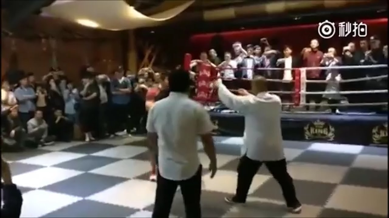 MMA fighter and Tai Chi 'master' fight ends in 10 seconds