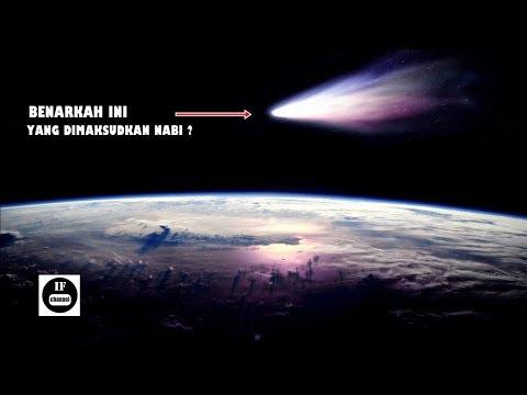 Masyaallah.. !!! Rasulullah Pernah Menyebut Komet Ini Sebagai Satu Pertanda