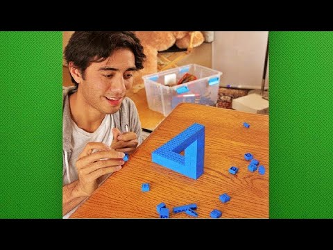 Present Surprise Happy New Year 2018 & Merry Christmas Magic of Zach King Collection