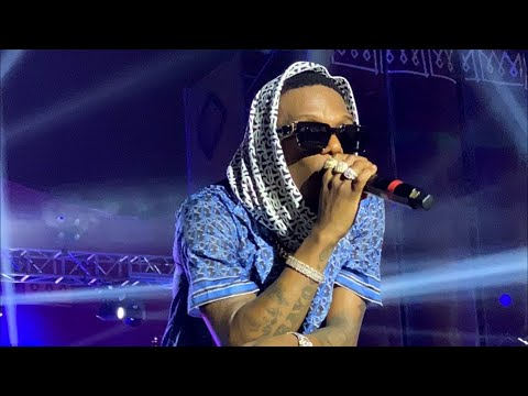 Wizkid Full Performance Hit Over Hit at Afronation Ghana🇬🇭 2019 Day 3, Shutdown with Akon on Stage