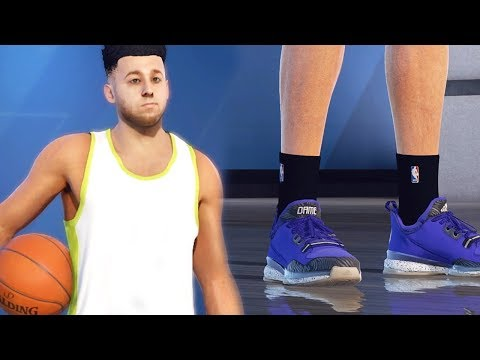 NBA LIVE 18 Career Mode - The Creation of My Player (FACE SCAN!)