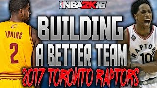 BUILDING A BETTER TEAM VS AGENT00!!! HUGE TRADES!! NBA 2K16 MY LEAGUE!!