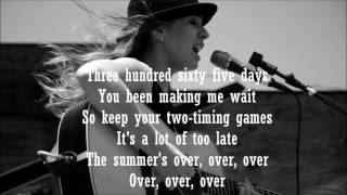 365 Days - ZZ Ward Karaoke