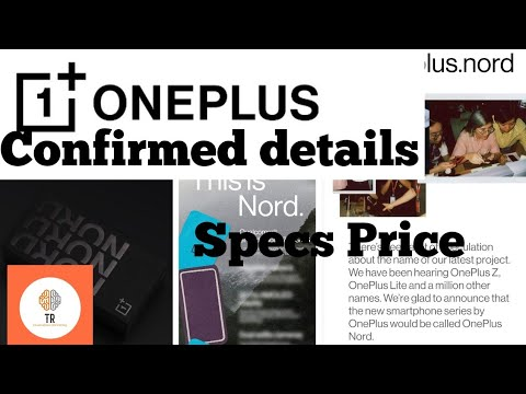 #OnePlus #OnePlusIndia    Oneplus Nord Confirmed Price & Features In India  